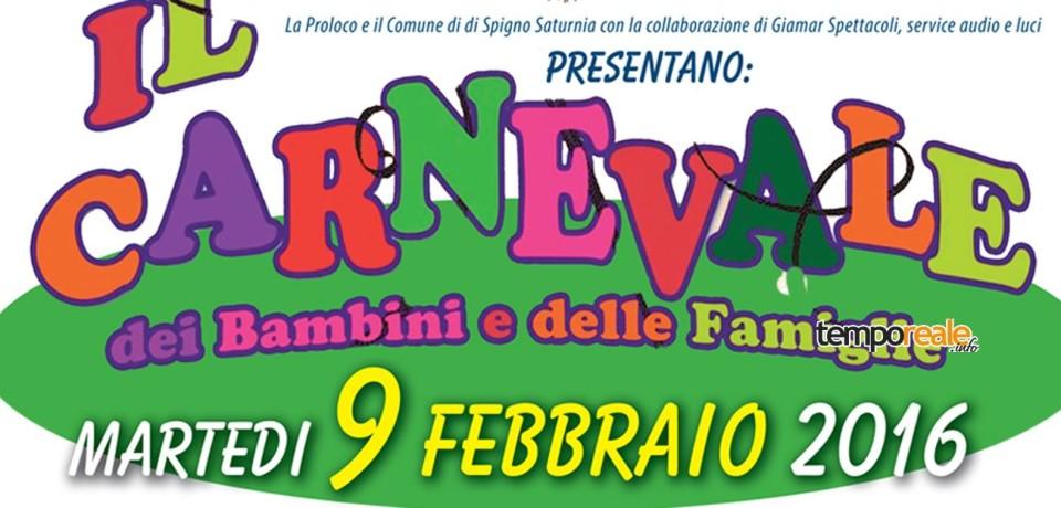 """Spigno Saturnia / Tutto pronto per """"Il Carnevale dei Piccoli e delle Famiglie"""""""