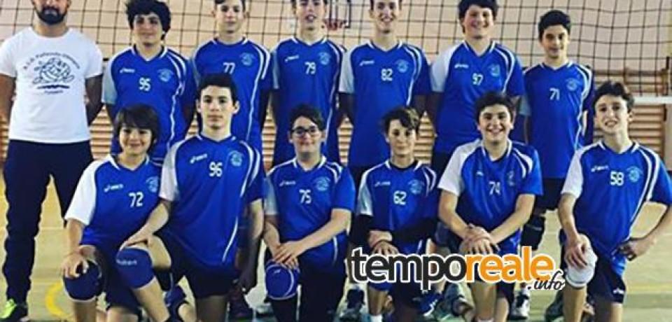 Formia / I ragazzi dell'ASD Pallavolo Olimpia under 15 salgono al primo posto in classifica