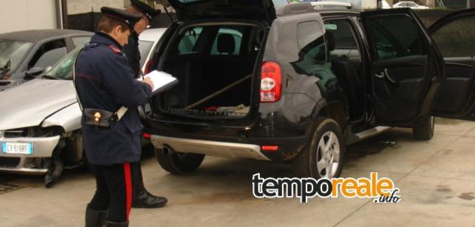 Sabaudia / Furti ai distributori, individuata un'auto rubata: ladri in fuga