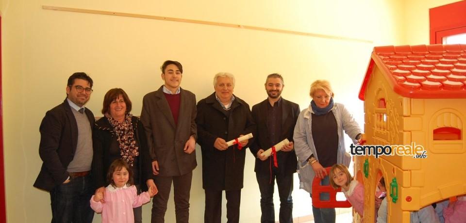 Vallemaio / Nuovi giochi alla scuola materna grazie a Federock, nel ricordo di Fererica