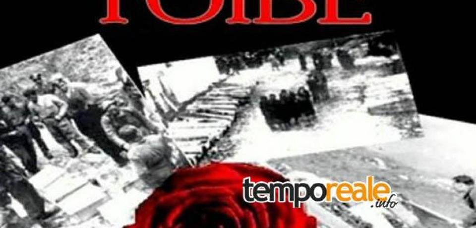 Gaeta / Giorno del Ricordo, per non dimenticare la tragedia delle Foibe