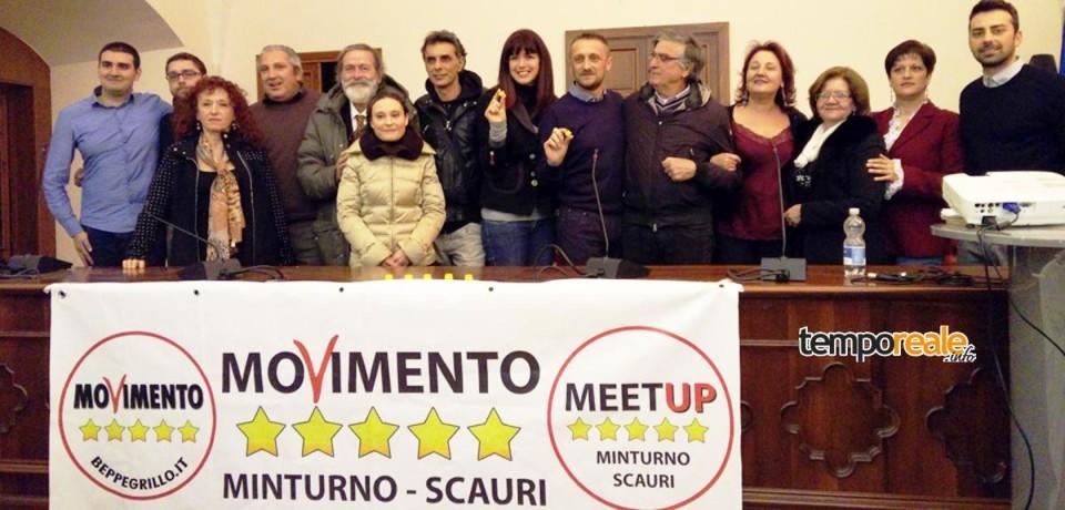 Minturno / Movimento 5 Stelle, la campagna elettorale entra nel vivo