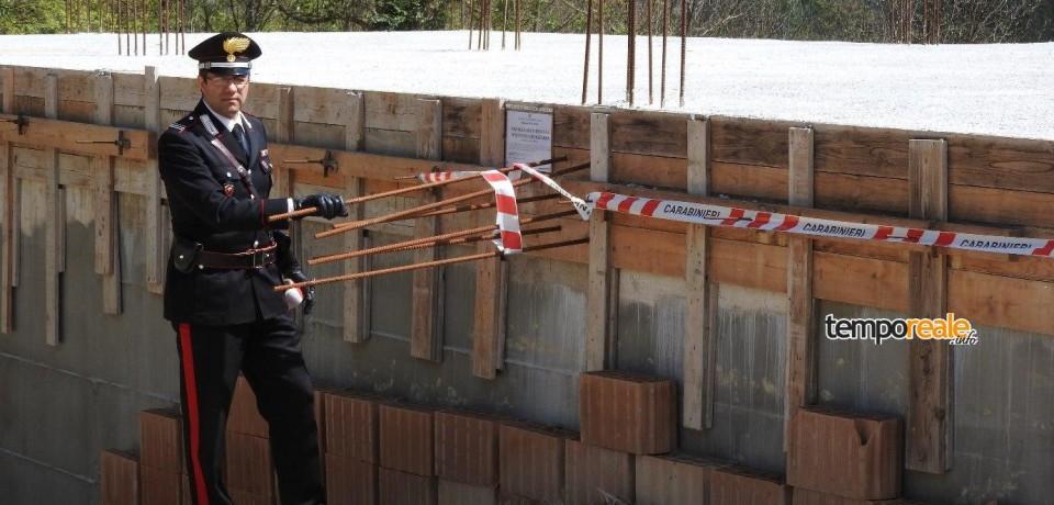 Cassino / Esecuzione di lavori edili in assenza del permesso di costruzione, due denunce
