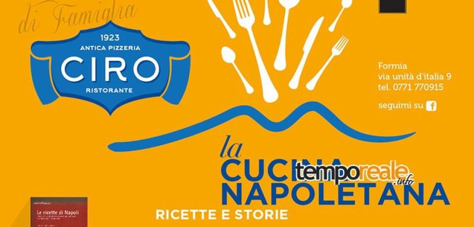 Formia / La cucina napoletana, il libro di Luciano Pignataro in una cena presentazione al ristorante Ciro