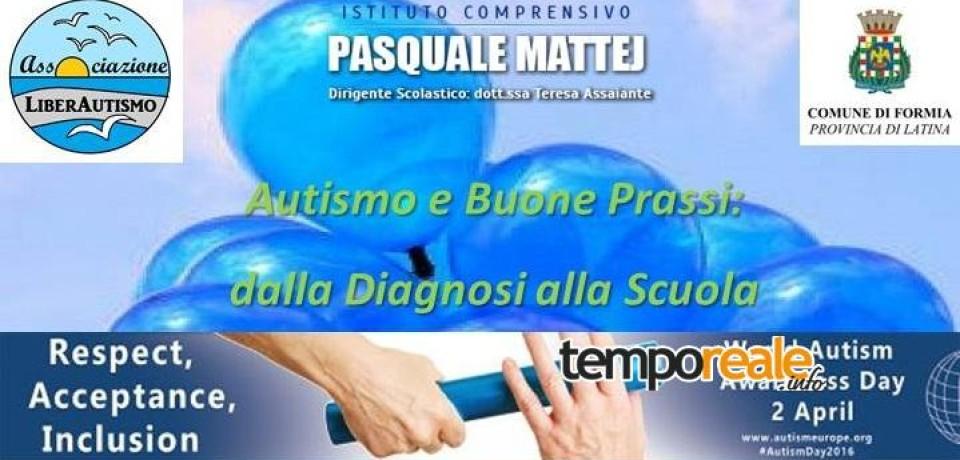 """Formia / """"Autismo e buone prassi"""", domani il convegno all'IC """"Mattej"""""""