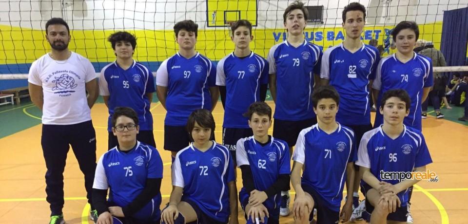Pallavolo / Olimpia Formia, U14M e U15M campioni provinciali