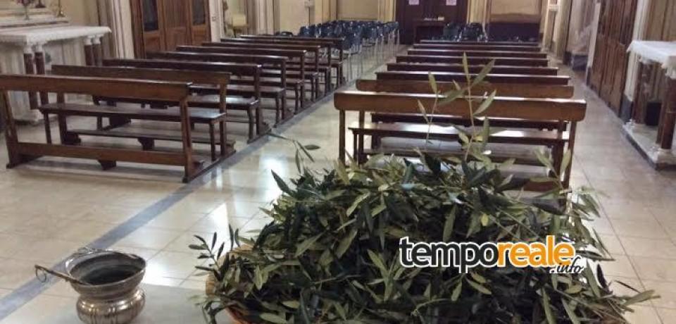 Itri / Tutto pronto al Convento dei Passionisti per la Domenica delle Palme