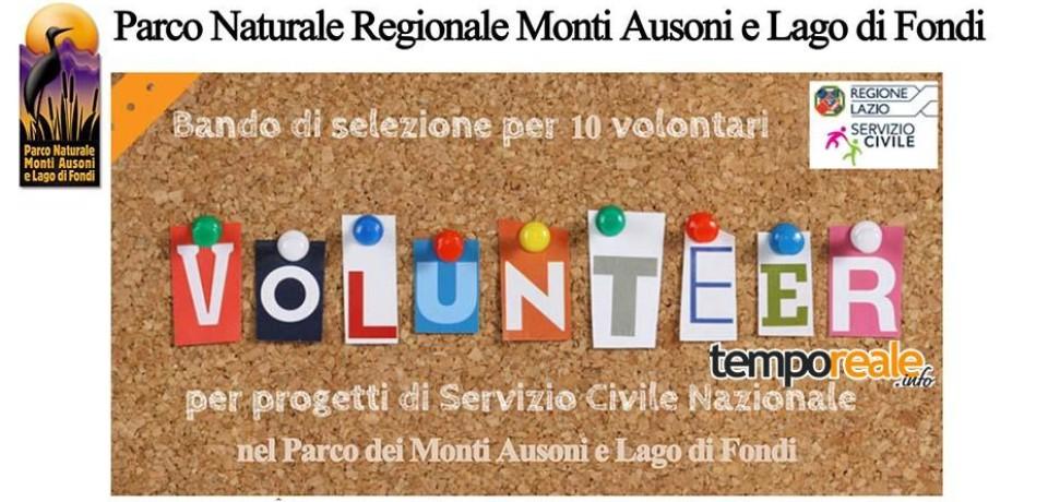 Fondi / Servizio Civile all'interno del Parco Naturale Monti Ausoni, aperto il bando