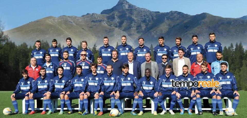 Formia Calcio, mercoledì 9 marzo la semifinale di Coppa Italia Promozione