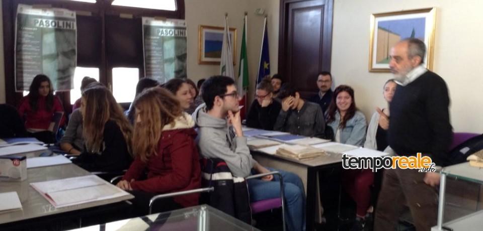 """Formia / """"L'Archivio didattico: il futuro della memoria"""", venerdì 18 marzo all'Archivio Storico"""
