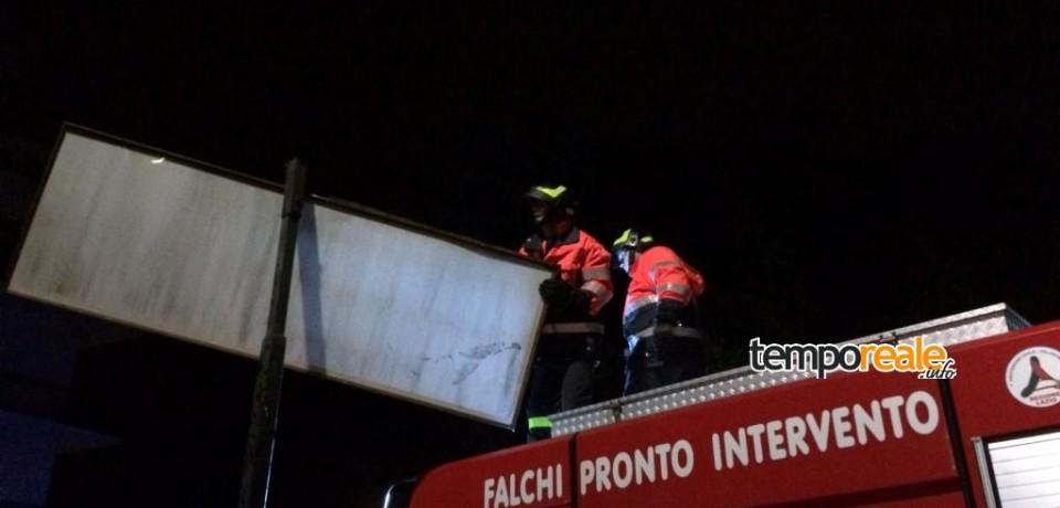 Maltempo, fortemente colpite le città di Fondi e Monte San Biagio