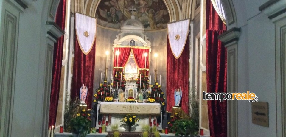 Itri / Tutto pronto per il triduo pasquale nella Chiesa dei Passionisti