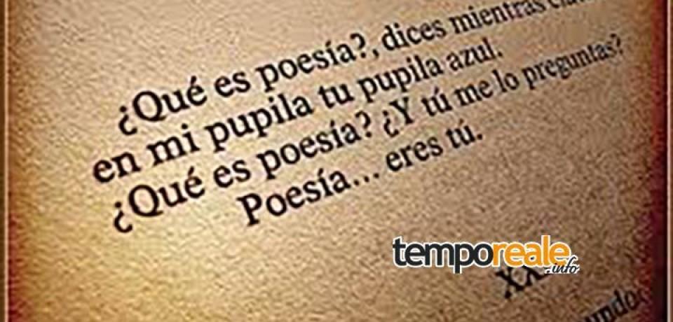 """Formia / Giornata Mondiale della Poesia, con """"Passioni"""" una settimana ricca di eventi culturali"""