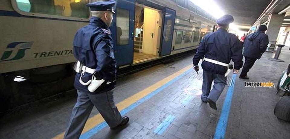 Sgominata banda di rapinatori sui treni regionali Roma-Napoli: 4 arresti