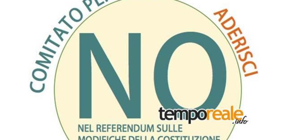 Formia / Nasce il Comitato Civico per il NO al referendum sulle modifiche della Costituzione