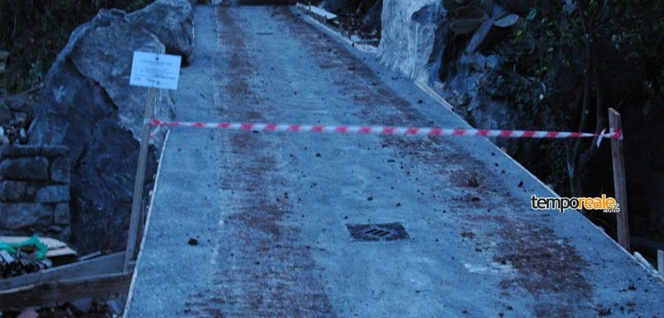 Itri / Sequestrata una strada abusiva lunga 150 metri in località Cescole