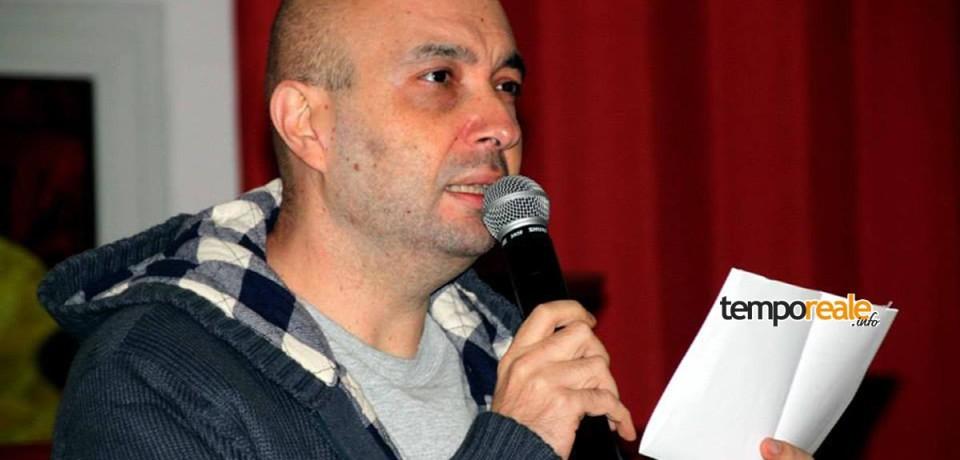 """Gaeta / Presentazione del libro """"L'attesa della notte"""" di Alessandro Izzi al  Cinema Ariston"""