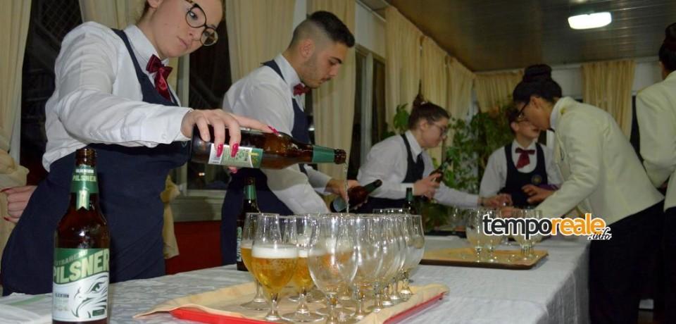 """Formia / """"Un mare di birra"""", al Ristorante Didattico dell'istituto alberghiero Celletti un menù speciale"""