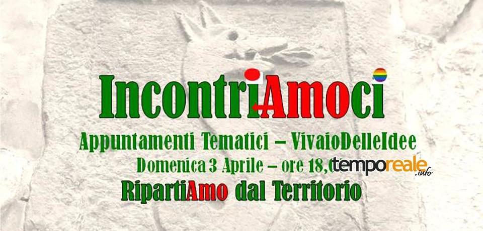 Itri / CambiaAmoItri: Aprile 2016, un mese di appuntamenti per confrontarsi con la gente