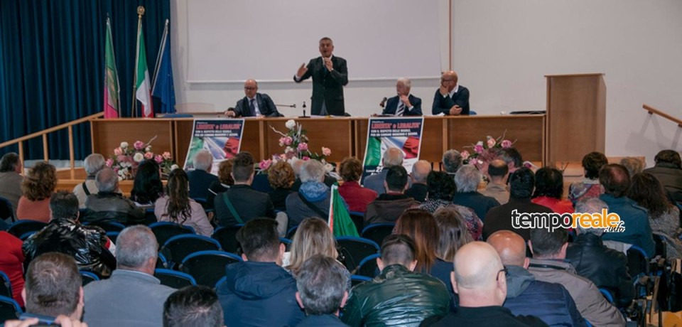 Minturno / Libertà e Legalità, il convegno del 25 aprile con Maurizio Faticoni