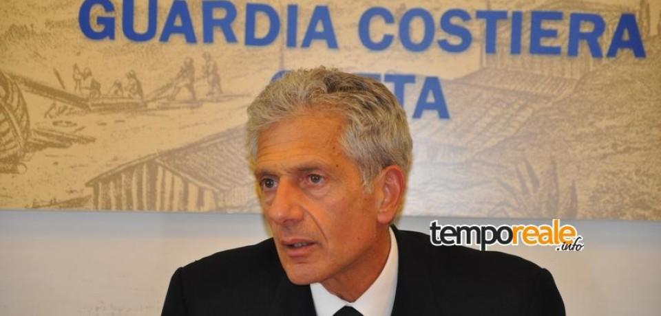 Vincenzo Leone, già comandante della capitaneria di Gaeta passa alla direzione marittima del Lazio