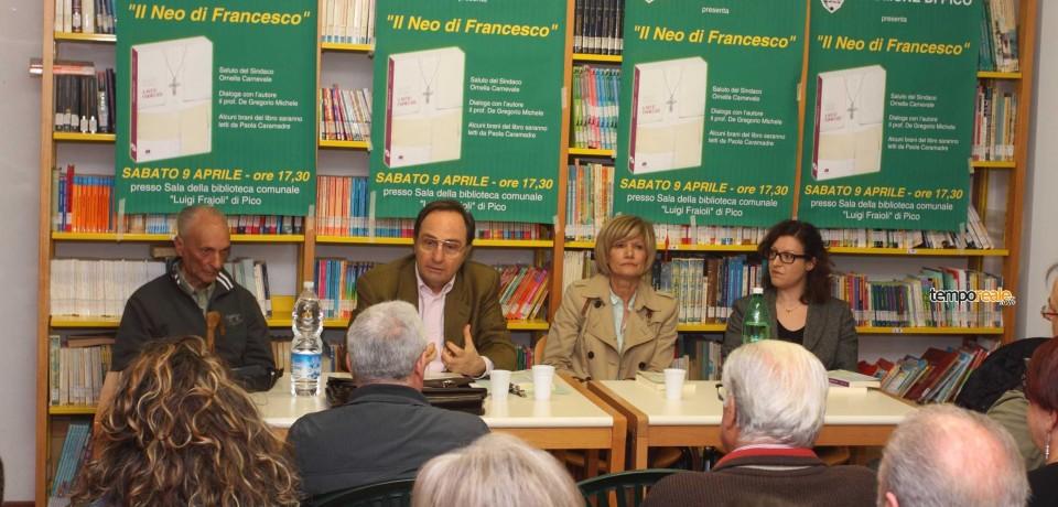 """Pico / """"Il neo di Francesco"""", presentato il libro di Don Roberto Sardelli"""