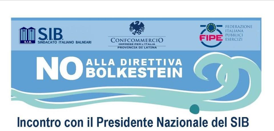 Terracina / Direttiva Bolkestein, Confcommercio Latina incontra il presidente nazionale del SIB