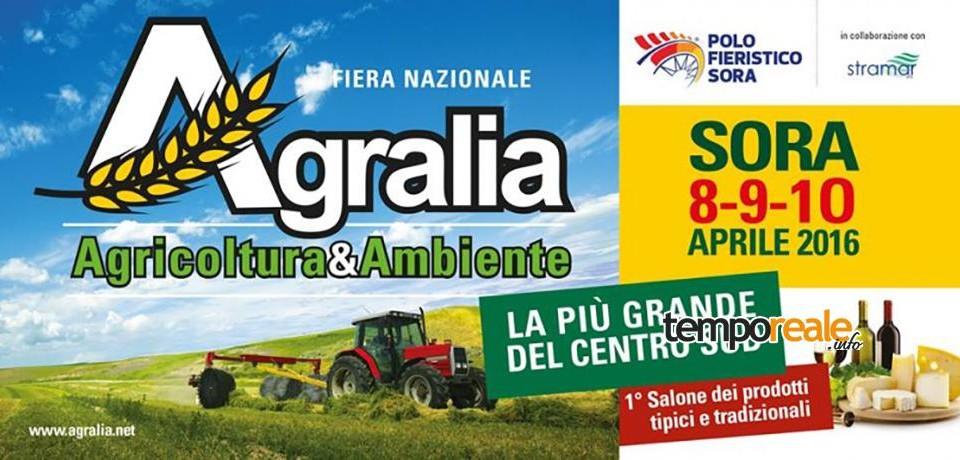 """Sora / Parchi regionali in mostra ad """"Agralia – Fiera nazionale dell'agricoltura e dell'ambiente"""""""