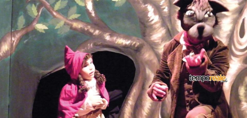 Formia / La favola di Cappuccetto Rosso in scena a cura del Teatro della Granguardia