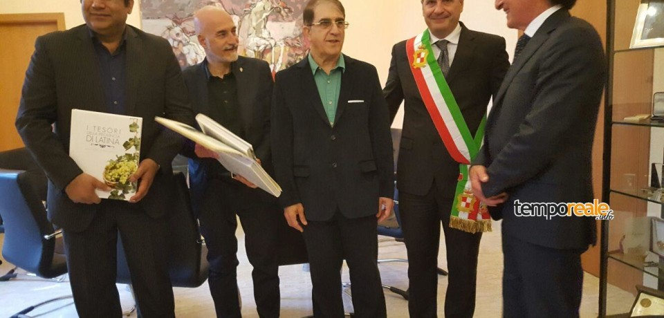 Gaeta / Il sindaco Mitrano incontra il vice ministro del turismo iraniano Jafari