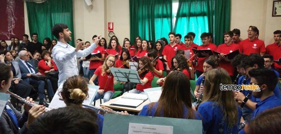 Frosinone / Il Liceo di Ceccano vince a Pesaro il Premio Rossini con l'orchestra Juvenis Harmonia Fabraterna
