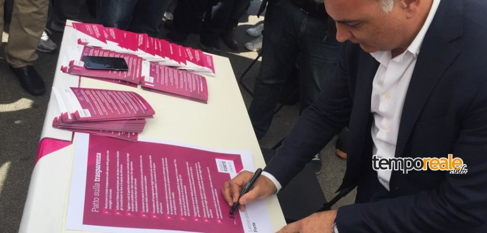 Latina / Elezioni: domani la presentazione ufficiale del programma di Enrico Forte