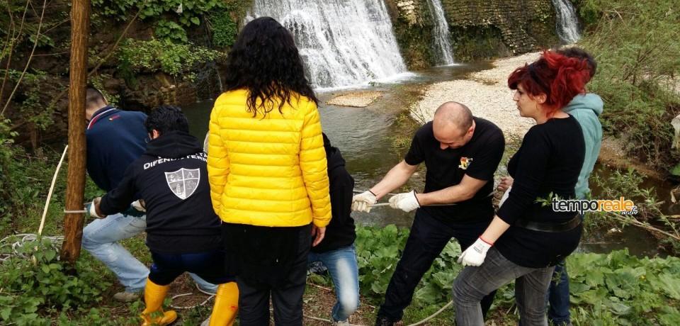 Frosinone / Una nuova primavera per le cascatelle dello Schioppo grazie a Vivi Frosinone Vivi Ciociaria