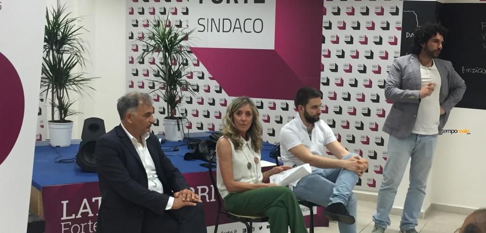 Latina / Elezioni, Milena Ricci e Matteo Coluzzi candidati con Enrico Forte
