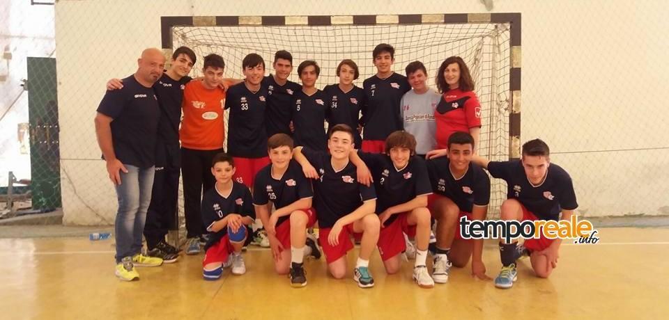 Handball / Giovanili HC Fondi, solo un pareggio per l'Under 16 contro il Cus Cassino Gaeta
