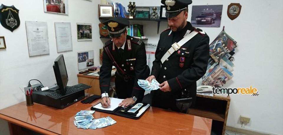 Scauri / Spendita di monete false, due arresti e due denunce
