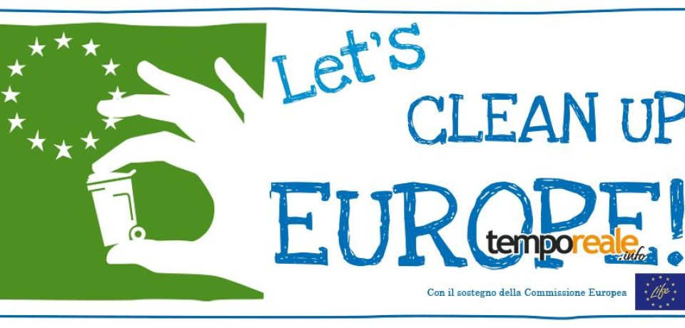 Formia Rifiuti Zero aderisce all'iniziativa Let's Clean Up Europe, una giornata per pulire insieme la città