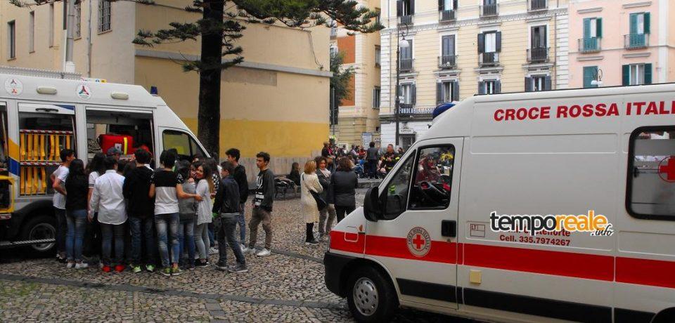 Swap Party a Gaeta ed esami in piazza a Formia, le iniziative di Cri