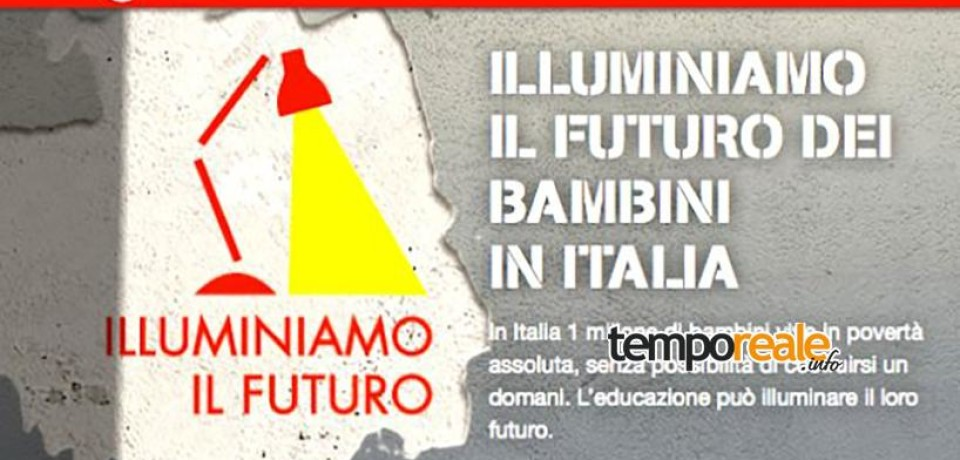 """Illuminiamo il Futuro"", gli eventi contro la povertà educativa di Save the Children"