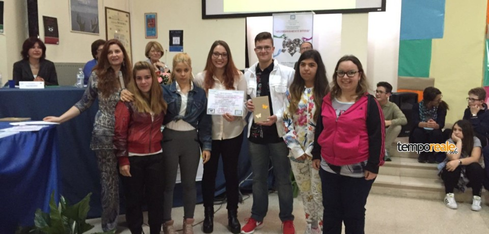 """Latina / Concorso """"Necessariamente diversi"""", premiati gli studenti dell'Istituto """"San Benedetto"""""""