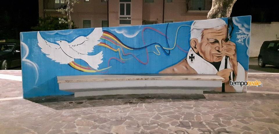 Scauri / Il 27 maggio l'inaugurazione della Piazza Giovanni Paolo II
