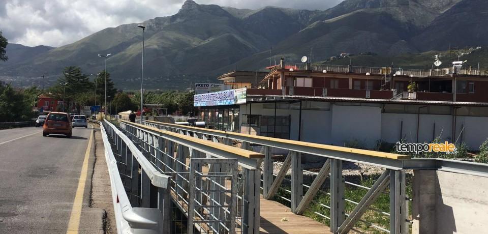 Formia / Apre al pubblico il ponte sul rio Santa Croce