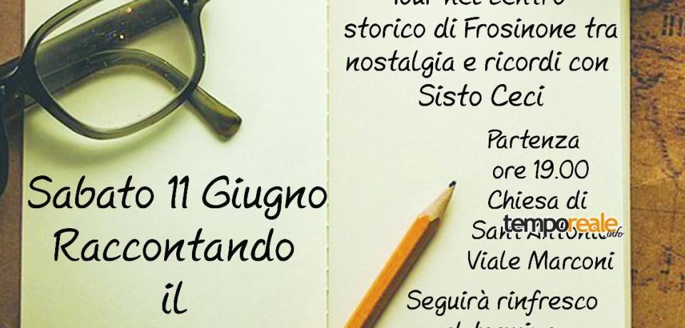 """Frosinone / """"Raccontando il centro storico"""", il nuovo itinerario di ViviFrosinone ViviCiociaria"""