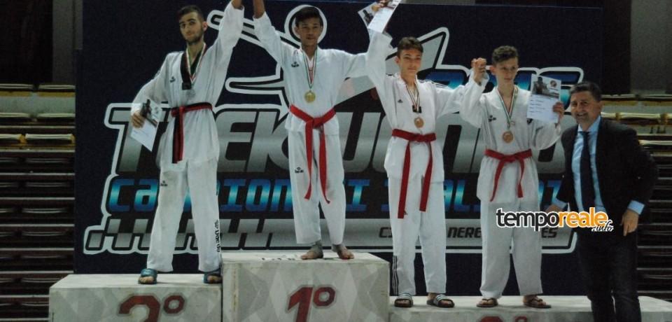 Taekwondo / Il formiano Andrea Guida medaglia d'argento sul podio dei Campionati Italiani Juniores