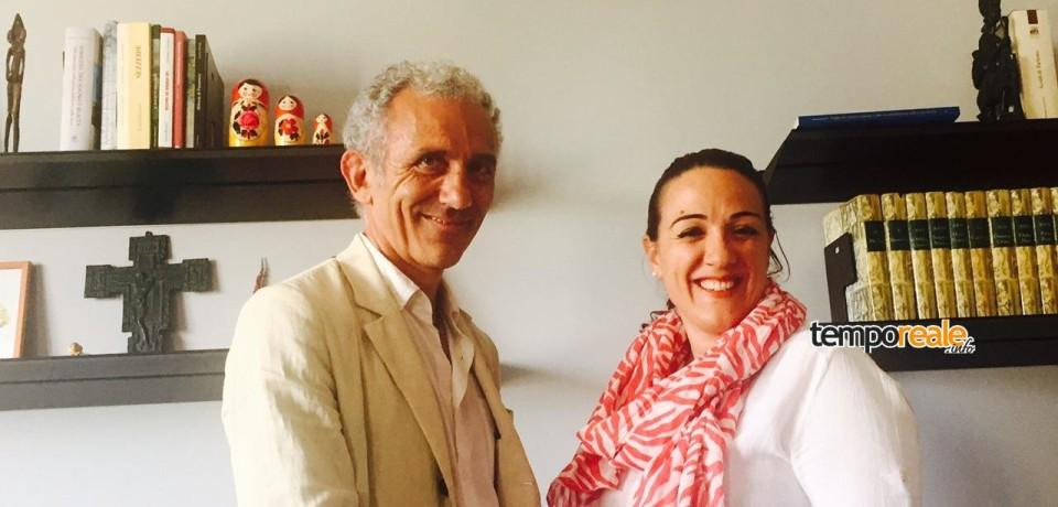Latina / Il sindaco Coletta incontra il presidente della provincia Della Penna
