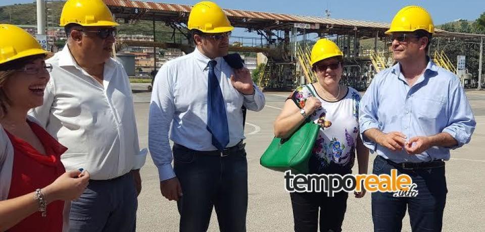 Gaeta / Deposito Eni, iniziano lavori per smantellamento serbatoi