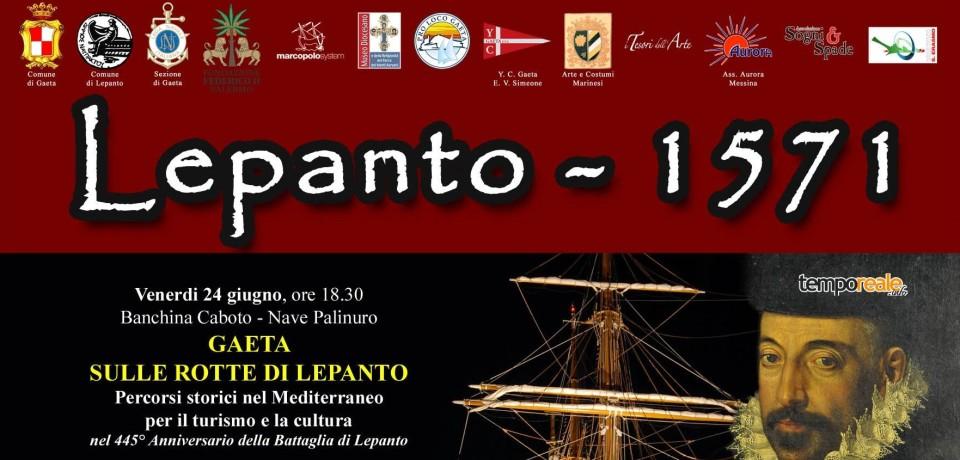 Gaeta / Una manifestazione per il 445° anniversario della Battaglia di Lepanto