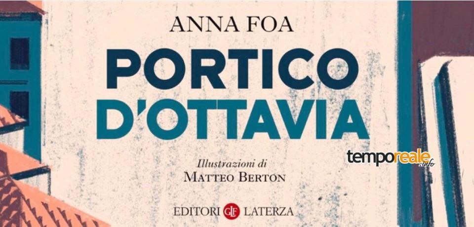 """Sperlonga / Libridamare: Anna Foa presenta il libro """"Portico d'Ottavia"""""""