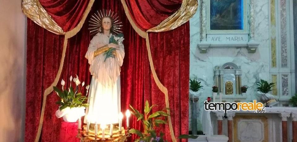 Itri / Domani quinto venerdì giubilare nella Chiesa dei Passionisti e novenario di Santa Maria Goretti