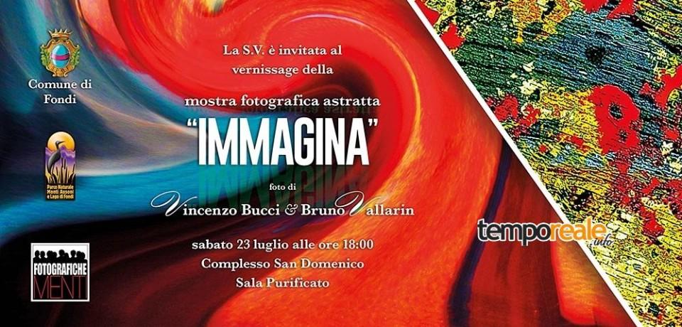 """Fondi / """"Immagina"""", sabato 23 luglio il vernissage della mostra fotografica astratta"""